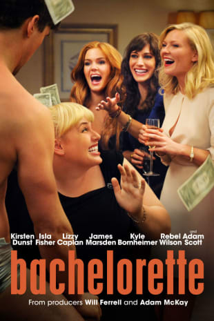 movie poster for Bachelorette