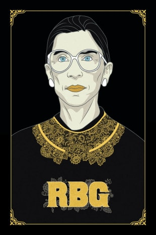 movie poster for RBG