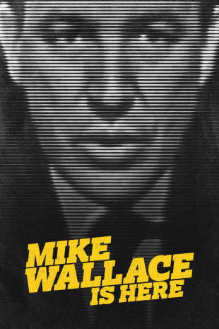 movie poster for Mike Wallace Is Here