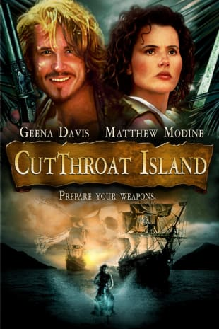 movie poster for Cutthroat Island