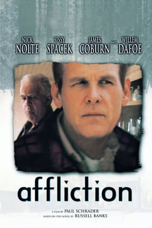 movie poster for Affliction