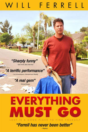 movie poster for Everything Must Go