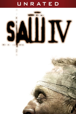 movie poster for Saw IV - Unrated