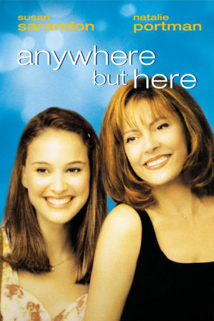 movie poster for Anywhere But Here
