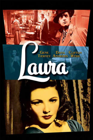 movie poster for Laura