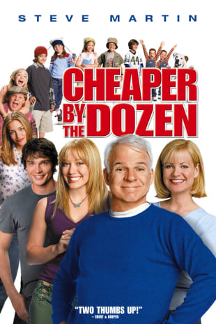 movie poster for Cheaper By The Dozen (2003)