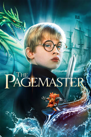 movie poster for The Pagemaster