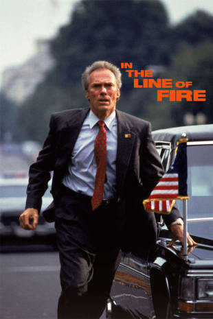 movie poster for In the Line of Fire