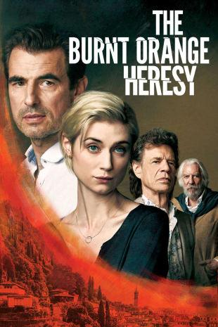 movie poster for The Burnt Orange Heresy