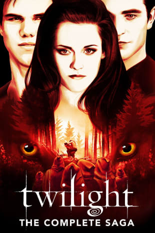 movie poster for Twilight: The Complete Saga