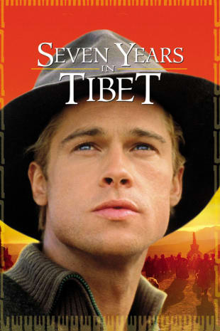 movie poster for Seven Years in Tibet