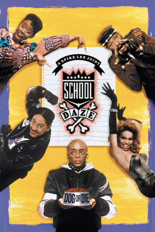 movie poster for School Daze