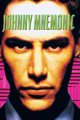movie poster for Johnny Mnemonic