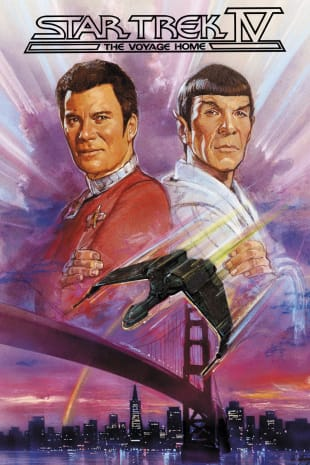 movie poster for Star Trek IV: The Voyage Home