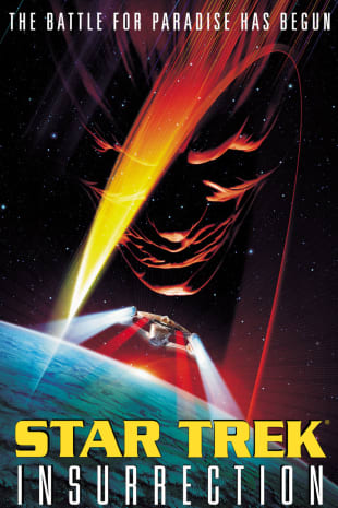 movie poster for Star Trek: Insurrection