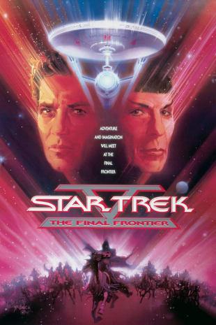 movie poster for Star Trek V: The Final Frontier