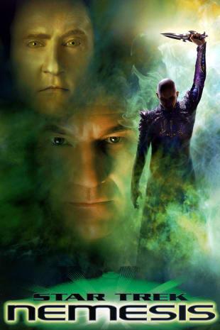 movie poster for Star Trek: Nemesis
