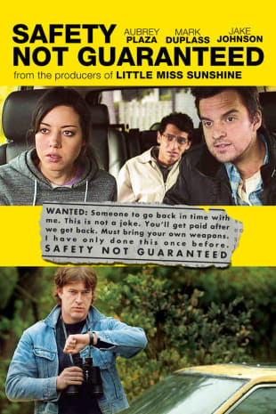 movie poster for Safety Not Guaranteed