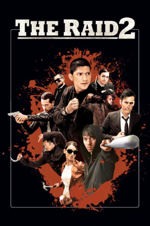 movie poster for The Raid 2