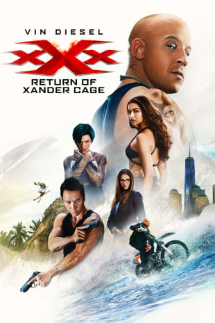 movie poster for xXx: The Return Of Xander Cage