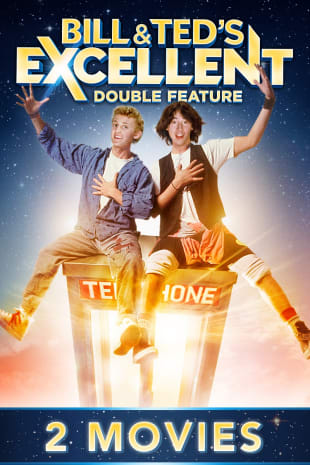 movie poster for Bill & Ted's Excellent Double Feature