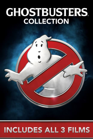 movie poster for Ghostbusters Collection