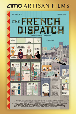 movie poster for The French Dispatch