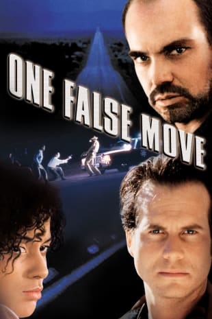 movie poster for One False Move