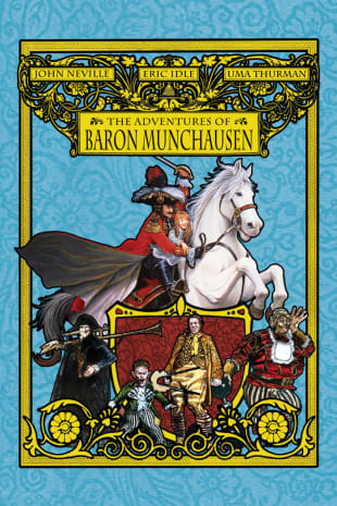 movie poster for The Adventures of Baron Munchausen