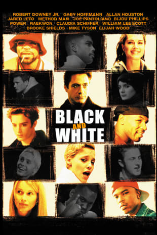 movie poster for Black and White (1999)