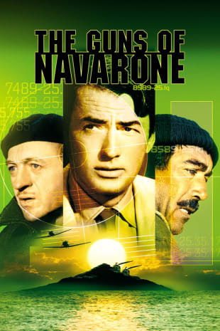 movie poster for The Guns Of Navarone (1961)