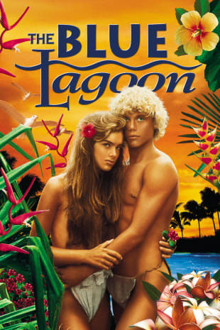 movie poster for The Blue Lagoon