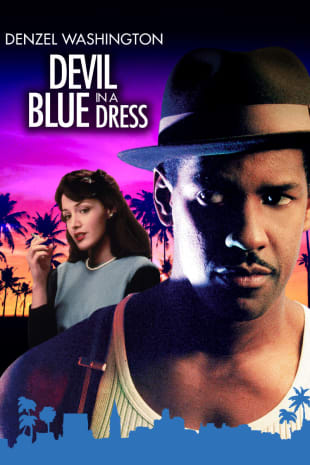 movie poster for Devil in a Blue Dress
