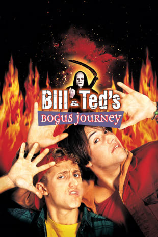 movie poster for Bill & Ted's Bogus Journey