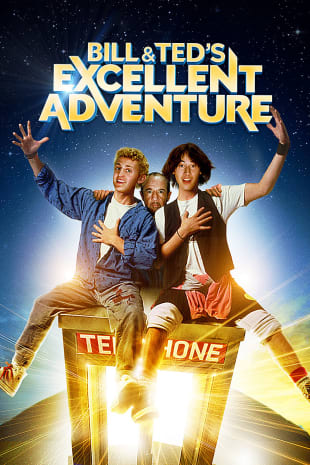 movie poster for Bill and Ted's Excellent Adventure