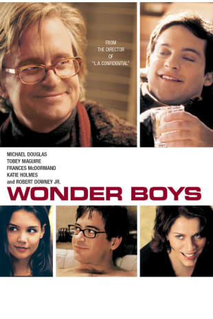 movie poster for Wonder Boys
