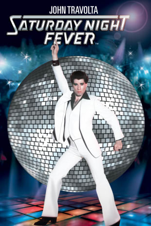 movie poster for Saturday Night Fever