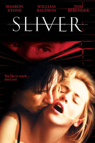 movie poster for Sliver