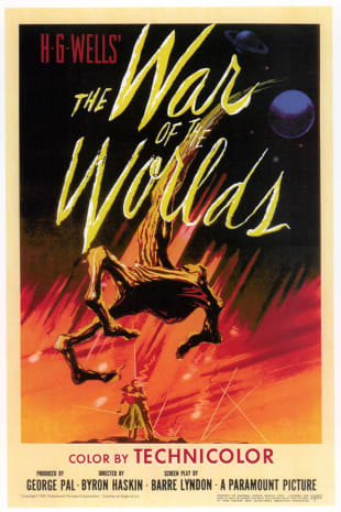 movie poster for The War of the Worlds (1953)