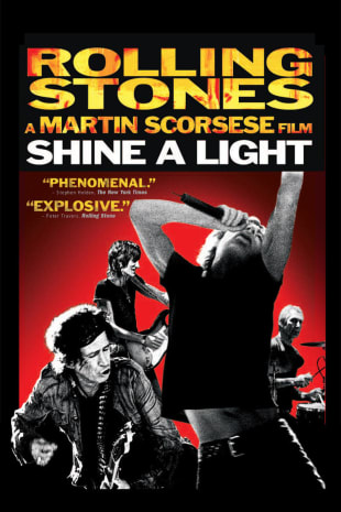movie poster for Shine A Light