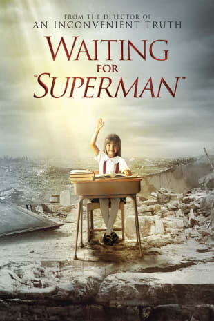 movie poster for Waiting For 'Superman'