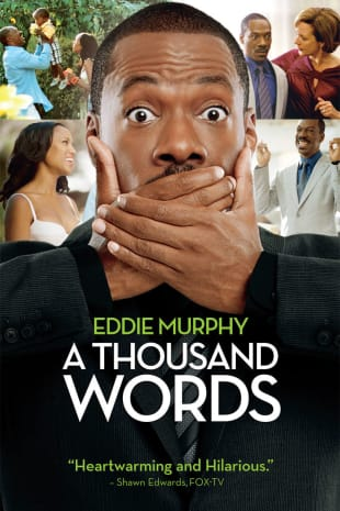 movie poster for A Thousand Words