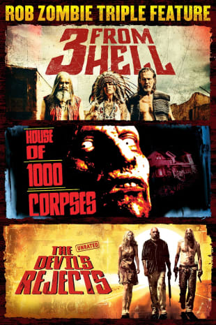movie poster for Rob Zombie Triple Feature