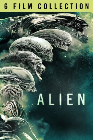 movie poster for Alien 6-Movie Collection