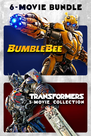 movie poster for Bumblebee + Transformers 6-Movie Collection
