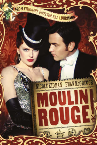 movie poster for Moulin Rouge!