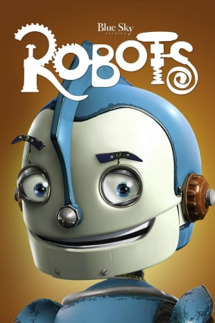 movie poster for Robots