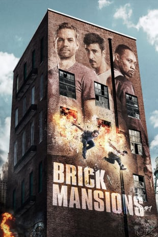 movie poster for Brick Mansions