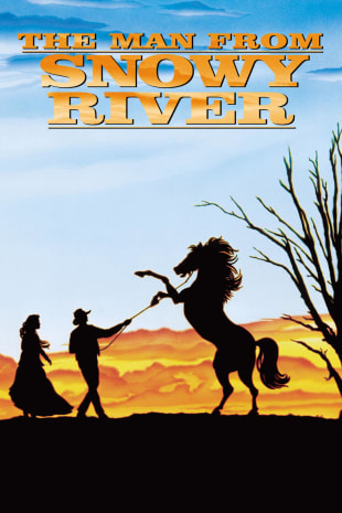 movie poster for The Man From Snowy River