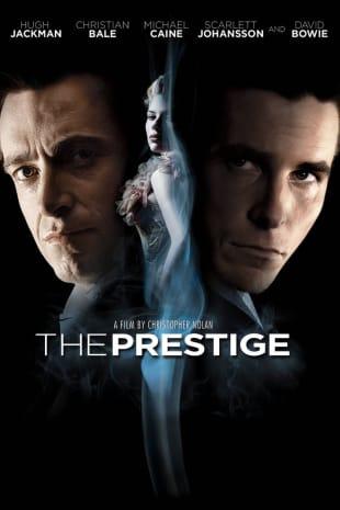 movie poster for The Prestige